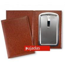 Porta Facturas Negro de 15'5x11cm 20069 PUJADAS (OUTLET LIQUIDACIÓN) (1 ud)