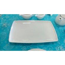 Fuente rectangular Porcelana 35x23cm PACD1009 EFG (Caja 6 uds)