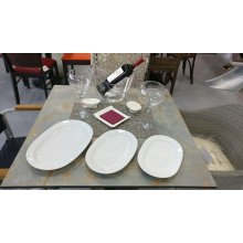 Fuente Oval 28cm Blanco PAFT1004 EFG (OUTLET LIQUIDACIÓN) (Caja 6 uds)