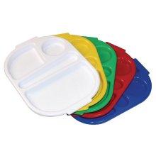 Bandeja con compartimientos Kristallon grande varios colores disponibles U03 (OUTLET LIQUIDACIÓN) (1 ud)