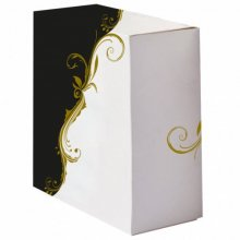 Pack 50 uds Cajas Pasteleria sin ventana 275g/m2 24x24x12cm Blanco Cartoncillo 204.66 GDP (1 pack)