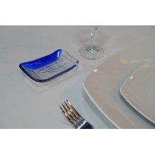 Bandeja Murano Cobalto 11x7cm B942003 VIEJO VALLE (Caja 48 uds)
