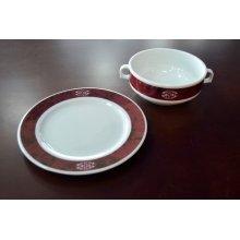 Taza Consomé Rubi Porcelana 30cl IEKR1017 EFG (Caja 6 uds)