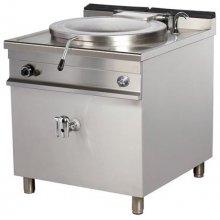Marmita a gas 400 litros calentamiento directo 58,5kw 1100x1160x900h mm GBP400 ARISCO