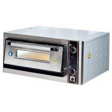 Horno Eléctrico de Pizza de 250mm de Diámetro de 800 x720 x390h mm para 4 Pizza LZ2504 ARISCO (OUTLET)