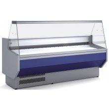Vitrina Refrigerada DOCRILUC Cristal Recto Fondo 800 de 2525 x800 x1230h mm VED-8-25-R