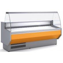 Vitrina Refrigerada DOCRILUC Cristal Curvo Fondo 800 de 1055 x800 x1230h mm VED-8-10-C