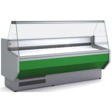 Vitrina Refrigerada DOCRILUC CON RESERVA Cristal Recto Fondo 940 de 2525 x800 x1230h mm VED-9-25-R