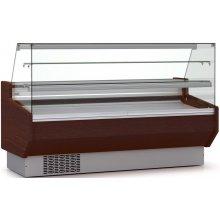 Vitrina Refrigerada DOCRILUC Pastelería Cristal Doble Recto Fondo 940 de 1525 x940 x1295h mm VEPD-9-15-RR