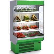 Mural Refrigerado Expositor DOCRILUC Frutas y Verduras Fondo 860 de 970 x860 x2020h mm M-8-100V