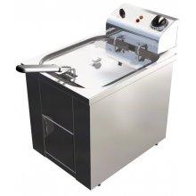 Freidora Eléctrica 10 litros Uso Profesional de 325 x440 x360h mm FAP10