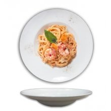 Plato de Pasta Porcelana Redondo de 27 cm 178-0010 ALAR (Caja 6 uds)