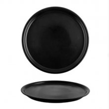 Plato de Pizza STONE de 30 cm Color Negro 181-0004 ALAR (Caja 12 uds)
