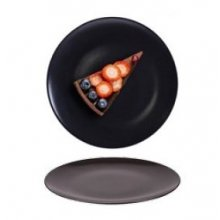 Plato de Postre 20 cm STONE Cok Color Negro 164-0015 ALAR (Caja 12 uds)