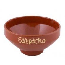 Tazón de Cerámica para Gazpacho Marcado de 16 x 8.5cm 37-1557 ALAR (Caja 16 uds)