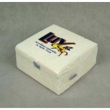 Paquete 100 uds Servilleta de 30x30cm de Celulosa Blanco P301100 HOSTELCASH (1 ud)