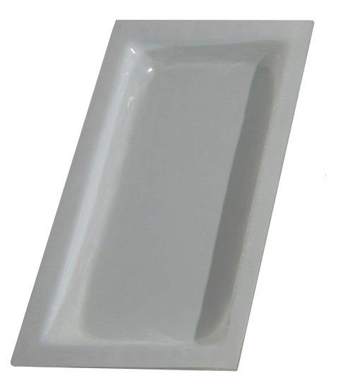 Cubeta Gastronom de cristal Blanco