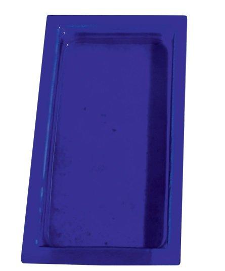 Cubeta Gastronom de cristal Azul